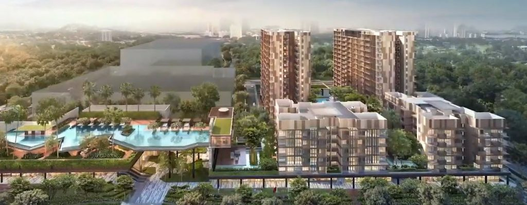 Dairy Farm Residences Condo at Hillview MRT Station by United Engineers Limited